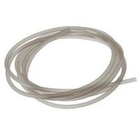 PVC-Schlauch Durchmesser 2,5 mm, hellgrau, Länge 1 m