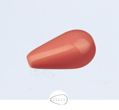 Preciosa 15 x 8 mm Nacre Pearl Pear