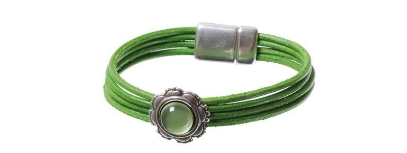 Lack-Armband Hellgrün