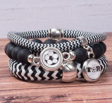 Segeltau Armband in Vereinsfarben selber machen