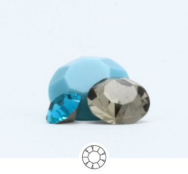 Preciosa Round Stone Chatons