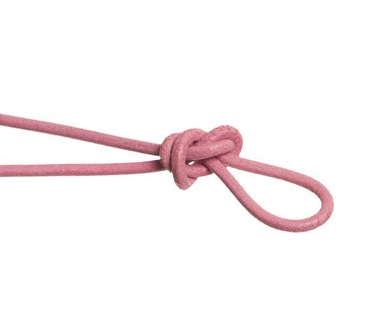 Wickelarmband mit rundem Lederband selber machen Schritt 4