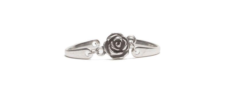 Metall Armband Rose