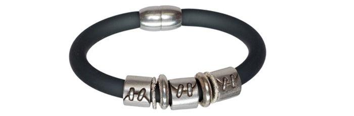 Armband Grau