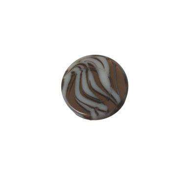 Polariscabochons Animalprint rund 12 mm
