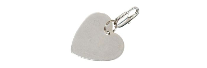 "Charm ""Plain Heart"""