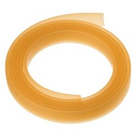 Flaches PVC-Band 10 x 2 mm, champagner, 1 m