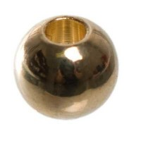 Metallperle Kugel, ca. 4 mm, vergoldet