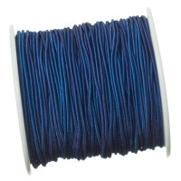 Gummikordel, Durchmesser 1,0 mm, Länge 20 m, blau