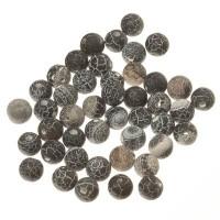 Edelsteinstrang Achat, Kugel, 8 mm, schwarz