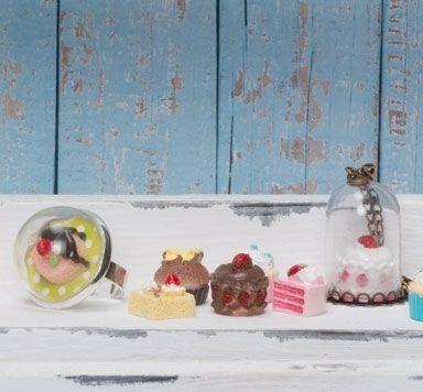 Schmuck mit Tiny Food und Figuren