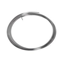 Craft Wire, Durchmesser 1,0 mm, 4 m, versilbert