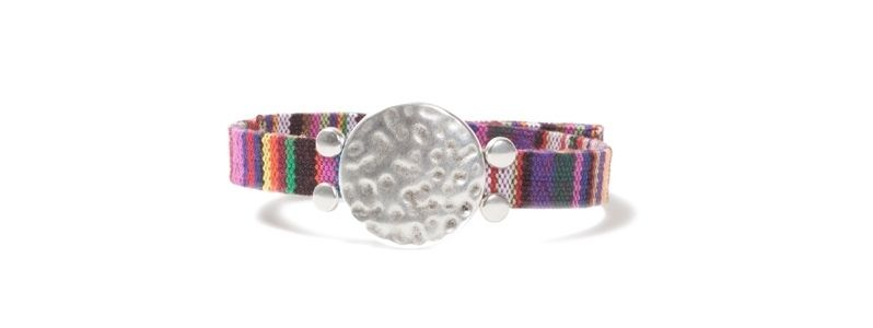 Ethno-Armband Scheibe